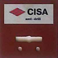 "Бронепластина Cisa ""Anti-Drill"""